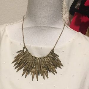 H&M gold necklace